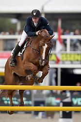 De Boer Lennard, NED, VDL Edgar M<br /> FEI World Breeding Jumping Championships for Young horses - Lanaken 2016<br /> © Hippo Foto - Dirk Caremans<br /> 18/09/16