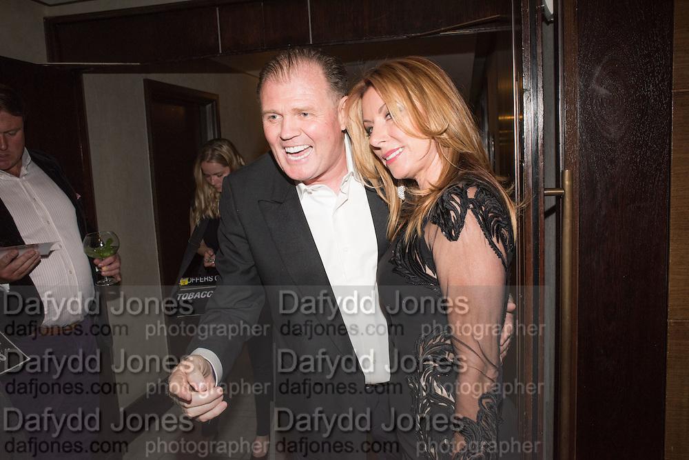 RUSTY EGAN; JOANNE SCULLY;, London Bar & Club Awards, Intercontinental Hotel. Park Lane. London, 6 June 2016