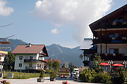 Austria, Upper Austria, Gosau village, in the Dachstein Mountains