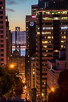 Bay Bridge & Financial District