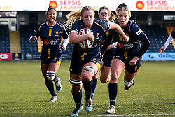 Taz Bricknell of Worcester Warriors Women - Mandatory by-line: Robbie Stephenson/JMP - 01/12/2019 - RUGBY - Sixways Stadium - Worcester, England - Worcester Warriors Women v Bristol Bears Women - Tyrrells Premier 15s