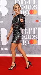 February 21, 2019 - London, London, United Kingdom - Image licensed to i-Images Picture Agency. 20/02/2019. London, United Kingdom. Ashley Roberts  at the Brit Awards in London. (Credit Image: © i-Images via ZUMA Press)