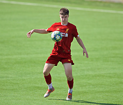 NAPLES, ITALY - Tuesday, September 17, 2019: Liverpool's Morgan Boyes during the UEFA Youth League Group E match between SSC Napoli and Liverpool FC at Stadio Comunale di Frattamaggiore. (Pic by David Rawcliffe/Propaganda)