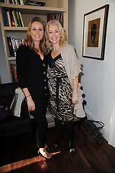 Left to right, CLAIRE GOODWIN and BETHAN WILLIAMS at a breakfast hosted by Bobbi Brown - the cosmetics company held at Morton's, 28 Berkeley Square, London on 8th December 2009.