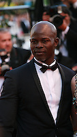 Djimon Hounsou at the the How to Train Your Dragon 2 gala screening red carpet at the 67th Cannes Film Festival France. Friday 16th May 2014 in Cannes Film Festival, France.