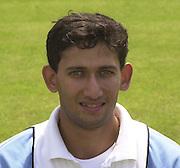 Photo Peter Spurrier.20/06/2002.Ajit Agarkar 20020620, India Test Team, Nets, Lords. [Mandatory Credit Peter Spurrier:Intersport Images]