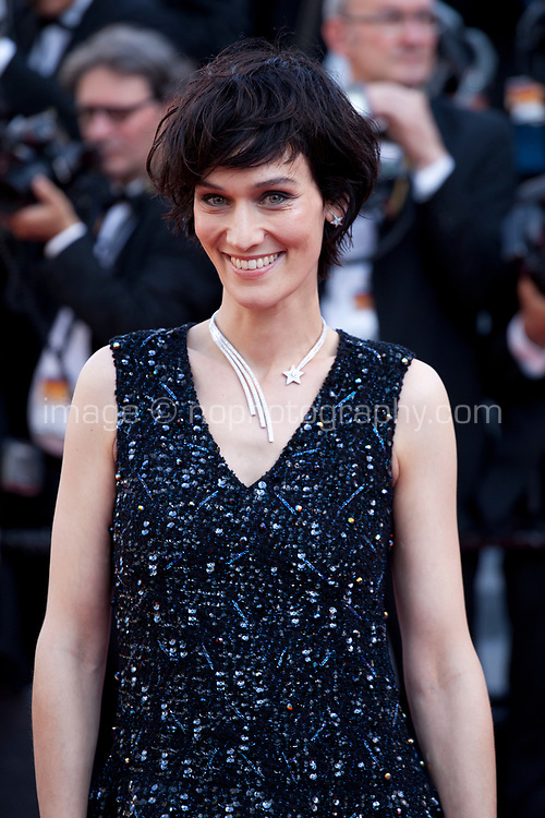 Actress Clotilde Hesme arriving to the Closing Ceremony and awards at the 70th Cannes Film Festival Sunday 28th May 2017, Cannes, France. Photo credit: Doreen Kennedy