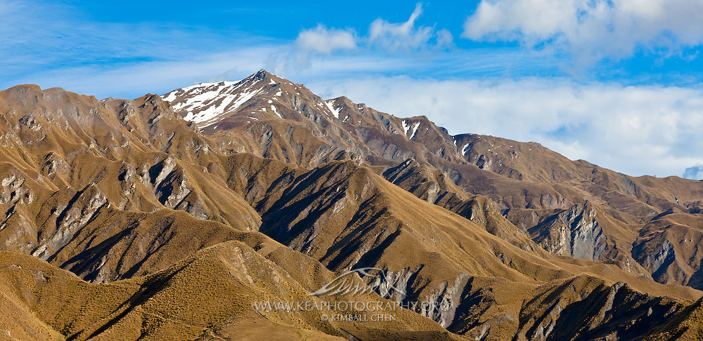 North view of Advance Peak, taken from Macetown, Central Otago.