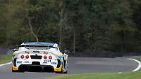 Century Motorsport #111 Ginetta G55 GT4 Anna Walewska/Mike Simpson GT4 Pro/AM during Friday testing for the British GT Championship as part of the BRDC British F3/GT Championship Meeting at Oulton Park, Little Budworth, Cheshire, United Kingdom. April 14 2017. World Copyright Peter Taylor/PSP. Copy of publication required for printed pictures.  Every used picture is fee-liable. http://archive.petertaylor-photographic.co.uk