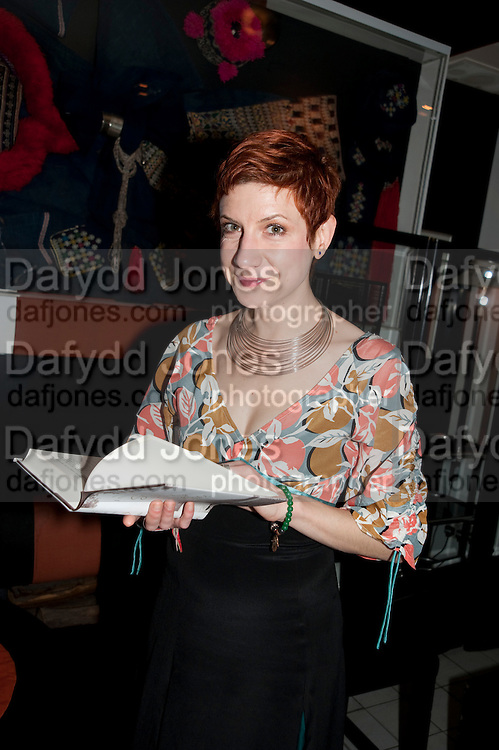 SASHA DJURKOVIC, Book party for Janine di Giovanni's Ghosts by Daylight. Blake's Hotel. South Kensington. London. 12 July 2011. <br /> <br />  , -DO NOT ARCHIVE-&copy; Copyright Photograph by Dafydd Jones. 248 Clapham Rd. London SW9 0PZ. Tel 0207 820 0771. www.dafjones.com.