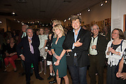 RACHEL JOHNSON; LEO JOHNSON, Exhibition opening of paintings by Charlotte Johnson Wahl. Mall Galleries. London, 7 September 2015.