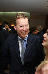 ORLANDO FRASER at a party to celebrate the publication of 'The Russian House' by Ella Krasner held at De Beers, 50 Old Bond Street, London W1 on 9th June 2005.<br />