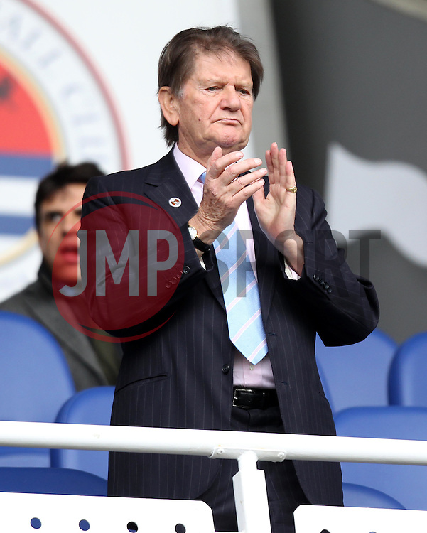 Sir John Madejski - Photo mandatory by-line: Robbie Stephenson/JMP - Mobile: 07966 386802 - 04/04/2015 - SPORT - Football - Reading - Madejski Stadium - Reading v Cardiff City - Sky Bet Championship