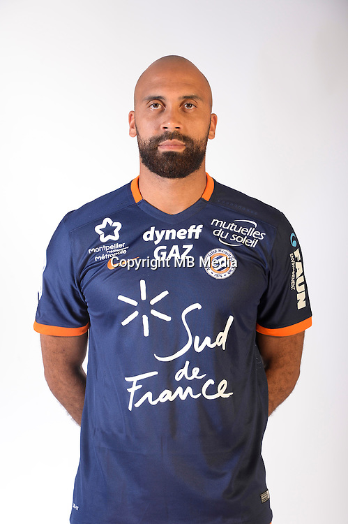 Anthony Vanden Borre during the photocall of Montpellier for new season of Ligue 1 on September 27th 2016 in Montpellier<br /> Photo : Mhsc / Icon Sport