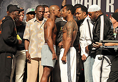April 30, 2010: Floyd Mayweather vs Shane Mosley Weigh-in