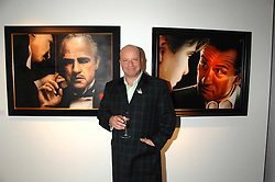 Artist PAUL KARSLAKE at an exhibition of his work entitled Ideas & Idols, held at Scream, 34 Bruton Street, London W1 on 21st February 2008.<br />