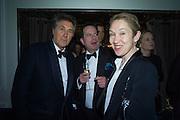 SIR BRYAN FERRY; HON PHILIP ASTOR; JUSTINE PICARDIE, Nicky Haslam hosts dinner at  Gigi's for Leslie Caron. 22 Woodstock St. London. W1C 2AR. 25 March 2015