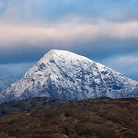 Winter Macgillycuddy's Reeks, County Kerry, ireland / ba054