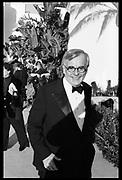 Dominick Dunne<br /> Oscar Night party hosted by Steve Tisch and Vanity Fair. Mortons, Los Angeles. March 1995.<br /> <br /> <br /> SUPPLIED FOR ONE-TIME USE ONLY> DO NOT ARCHIVE. © Copyright Photograph by Dafydd Jones 248 Clapham Rd.  London SW90PZ Tel 020 7820 0771 www.dafjones.com