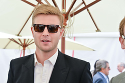 HARRY WENTWORTH-STANLEY at the Cartier Queen's Cup Polo final at Guard's Polo Club, Smiths Lawn, Windsor Great Park, Egham, Surrey on 14th June 2015