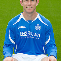 St Johnstone FC...Season 2011-12<br /> Frazer Wright<br /> Picture by Graeme Hart.<br /> Copyright Perthshire Picture Agency<br /> Tel: 01738 623350  Mobile: 07990 594431