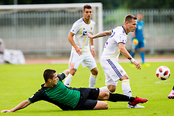 Martin Milec of NK Maribor during football match between NK Rudar Velenje and Maribor in 1st Round of Prva liga Telekom Slovenije 2018/19, on July 22, 2018 in Mestni stadion ob Jezeru, Velenje , Slovenia. Photo by Ziga Zupan / Sportida