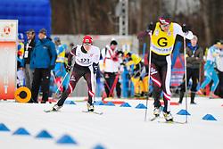 POLUKHIN Nikolay Guide: TOKAREV Andrey, RUS at the 2014 IPC Nordic Skiing World Cup Finals - Sprint