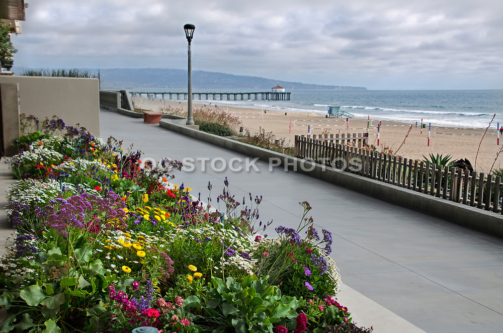 Manhattan Beach Boardwalk and Pier