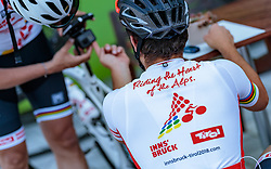 25.04.2018, Bad Häring, AUT, ÖRV Trainingslager, UCI Straßenrad WM 2018, im Bild Feature Rad WM // during a Testdrive for the UCI Road World Championships in Bad Häring, Austria on 2018/04/25. EXPA Pictures © 2018, PhotoCredit: EXPA/ JFK