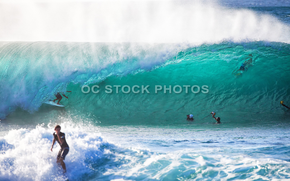 Surfing Big Waves