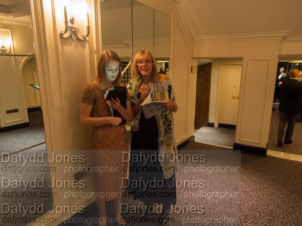 PHOEBE CUMMING; DANA CREAGH-COEN, Game & Wildlife Conservation Trust's Ball. Savoy Hotel. London. 6 November 2013.