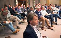 SOESTERBERG -  KNHB directeur Erik Gerritsen tijdens het Technisch Kader congres 2015 olv Topcoach Koen Gonnissen. COPYRIGHT KOEN SUYK