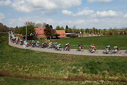 Alice Barnes (GBR) in the bunch on lap three at Healthy Ageing Tour 2019 - Stage 5, a 124.3 km road race in Midwolda, Netherlands on April 14, 2019. Photo by Sean Robinson/velofocus.com