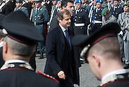 2013/03/23 Roma, funerali del Capo della Polizia. Nella foto Giampiero Massolo.<br /> Rome, Chief of Police funerals. In the picture Giampiero Massolo - &copy; PIERPAOLO SCAVUZZO