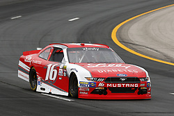 July 14, 2017 - Loudon, NH, United States of America - July 14, 2017 - Loudon, NH, USA: Ryan Reed (16) takes to the track to practice for the Overton's 200 at New Hampshire Motor Speedway in Loudon, NH. (Credit Image: © Justin R. Noe Asp Inc/ASP via ZUMA Wire)