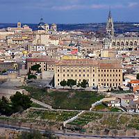 Alberto Carrera, Old town view, Toledo,  World Heritage Site by UNESCO, Castilla La Mancha, Spain, Europe