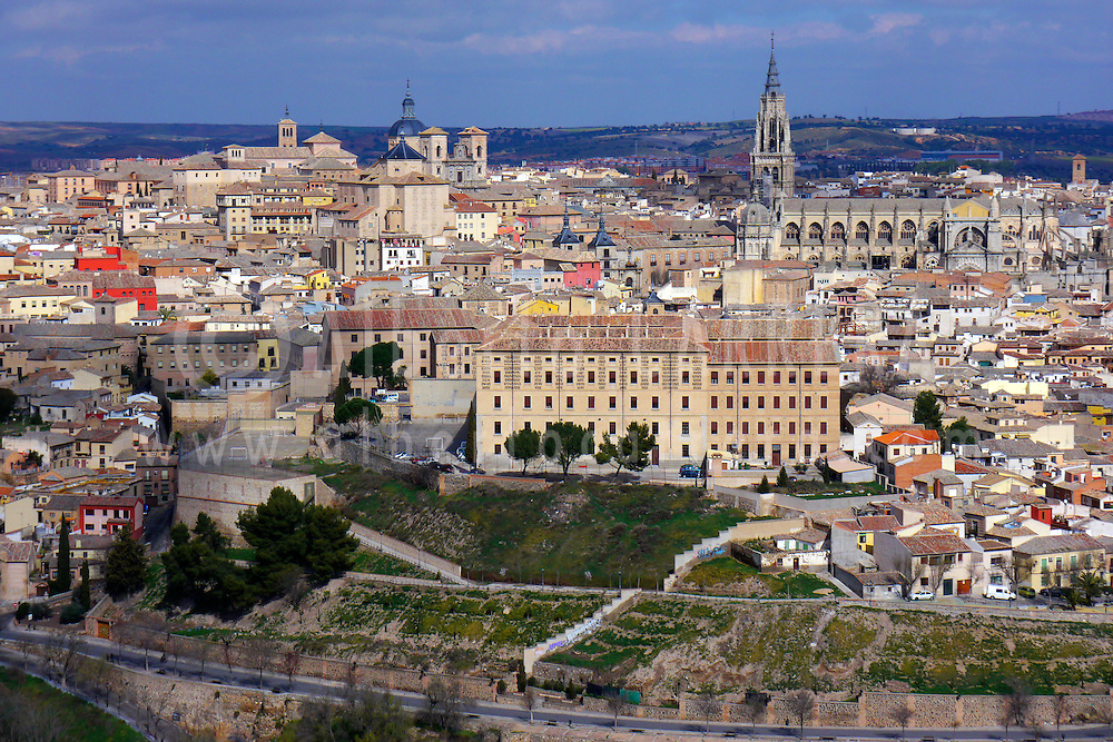 Alberto Carrera, Old town view, Toledo,  World Heritage Site by UNESCO, Castilla La Mancha, Spain, Europe