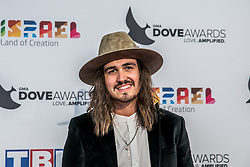 October 11, 2016 - Nashville, Tennessee, USA - Jordan Feliz at the 47th Annual GMA Dove Awards  in Nashville, TN at Allen Arena on the campus of Lipscomb University.  The GMA Dove Awards is an awards show produced by the Gospel Music Association. (Credit Image: © Jason Walle via ZUMA Wire)