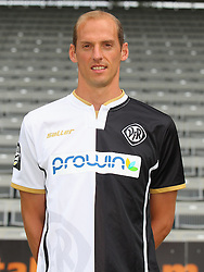 14.07.2015, Scholz Arena, Aalen, GER, 2. FBL, VfR Aalen, Fototermin, im Bild Oliver Barth ( VfR Aalen ) // during the official Team and Portrait Photoshoot of German 2nd Bundesliga Club VfR Aalen at the Scholz Arena in Aalen, Germany on 2015/07/14. EXPA Pictures © 2015, PhotoCredit: EXPA/ Eibner-Pressefoto/ Langer<br /> <br /> *****ATTENTION - OUT of GER*****