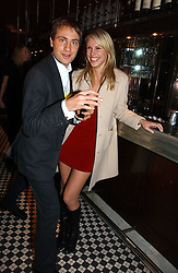 PETRINA KHASHOGGI and BEN GOLDSMITH at The Christmas Cracker - an evening i aid of the Starlight Children's Charity held at Frankies, Knightsbridge on 13th December 2006.<br />