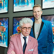NLD/Utrecht/20190414 - Premiere Circus Noël, Jacques d' Ancona en Rick Paul van Mulligen