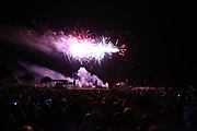 Mannheim. 29.07.17 | ID 061 |<br /> Maimarktgel&auml;nde. Pyrogames. Feuerwerker in vier Teams z&uuml;nden ihre Feuerwerkchoreografien ab und lassen sich vom Publikum bewerten. <br /> <br /> Bild: Markus Pro&szlig;witz 29JUL17 / masterpress