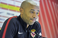 AS Monaco Training and Press Conference - 25 Oct 2018