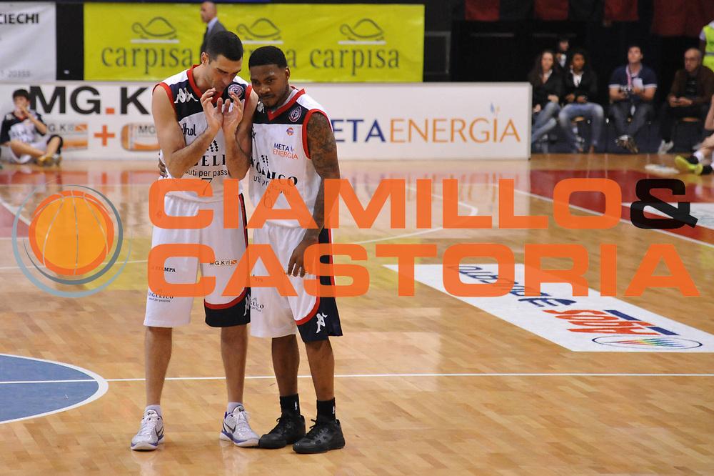 DESCRIZIONE : Biella Lega A 2010-11 Angelico Biella Enel Brindisi<br /> GIOCATORE : Aubrey Coleman Matteo Soragna<br /> SQUADRA : Angelico Biella<br /> EVENTO : Campionato Lega A 2010-2011<br /> GARA : Angelico Biella Enel Brindisi<br /> DATA : 12/05/2011<br /> CATEGORIA : <br /> SPORT : Pallacanestro<br /> AUTORE : Agenzia Ciamillo-Castoria/S.Ceretti<br /> Galleria : Lega Basket A 2010-2011<br /> Fotonotizia : Biella Lega A 2010-11 Angelico Biella Enel Brindisi<br /> Predefinita :