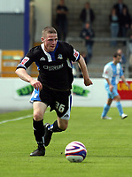 Photo: Mark Stephenson/Richard Lane Photography. <br /> Chester City v  Macclesfield Town. Coca-Cola Football League Two. 03/05/2008. <br /> Macclesfield's John Rooney with the ball