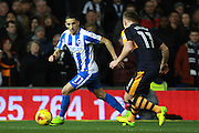 Brighton & Hove Albion winger Anthony Knockaert during the EFL Sky Bet Championship match between Brighton and Hove Albion and Newcastle United at the American Express Community Stadium, Brighton and Hove, England on 28 February 2017. Photo by Bennett Dean.