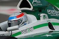 DURBAN, South Africa, Close up of Adam Khan of Team Pakistan who clocked 1:20.058 for 13th position during the Friday practice sessions held as part of the A1GP race weekend in Durban, South Africa on Friday 22 February 2008. Photo: SportsPics/SPORTZPICS