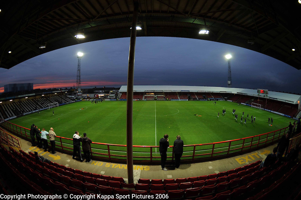 GRIMSBY TOWN FOOTBALL CLUB, Blundell Park, Cleethorpes, Grimsby,September 2011