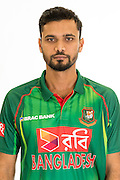 Masrafe Bin Mortaza, Bangladesh cricket team headshots ahead of their New Zealand tour. Cobham Oval, Whangarei. 21 December 2016. Copyright Image: Heath Johnson / www.photosport.nz