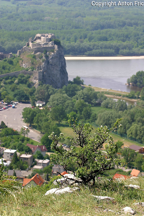 Devin castle near Bratislava is one of the oldest castles in Slovakia. It is located at the confluence of Morava and Danube rivers.